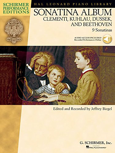 Sonatina Album: Clementi, Kuhlau, Dussek, and Beethoven (Schirmer Performance Editions) Bk/with online audio (Hal Leonard Piano Library Schirmer Performance Editions)