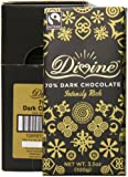 Divine Chocolate Bar, Intensly Rich 70% Dark, 3.5 Ounce (Pack of 10)