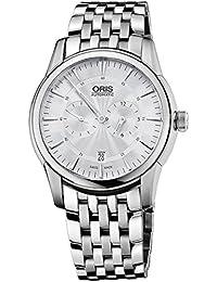 Oris Artelier Regulateur Automatic Stainless Steel Mens Watch Silver Dial 749-7667-4051-MB