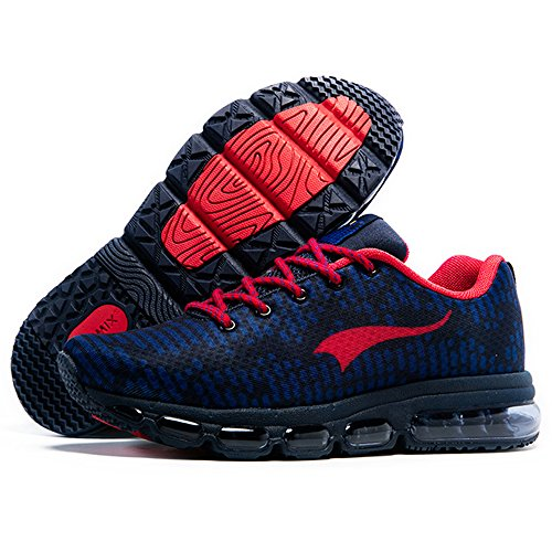 Blue Fitness red Trainers Lightweight Gym Onemix Women's Sports Running Shoes Air Deep Walking Men's Yqp7ZB