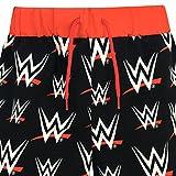 WWE Boys' World Wrestling Entertainment Swim Shorts Black Size 8