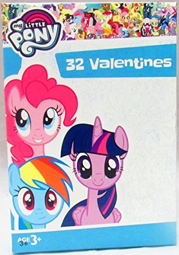 Paper Magic 32 Count Valentines (My Little Pony)