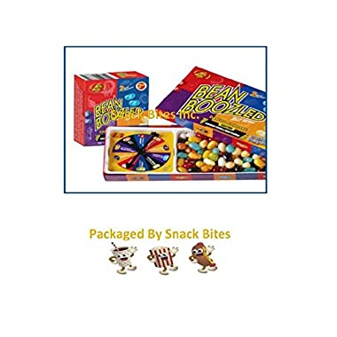 Jelly Belly Bean Boozled Jelly Beans 3.5 Oz with Spinner Wheel Game, 3rd Edition with Bonus Refill Box