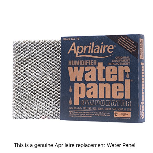 (Aprilaire 10 Replacement Water Panel for Aprilaire Whole House Humidifier Models 110, 220, 500, 500A, 500M, 550, 558 (Pack of)