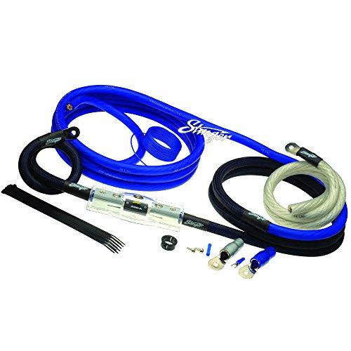 - Stinger SK6201 400 Watt 1/0 Gauge Car Amplifier Installation Wiring Kit