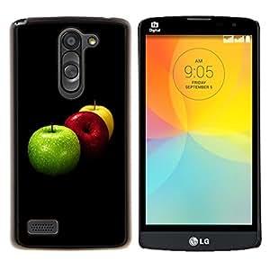 For LG L Prime D337 / L Bello D337 Case , Naturaleza Hermosa Forrest Verde 84- Diseño Patrón Teléfono Caso Cubierta Case Bumper Duro Protección Case Cover Funda