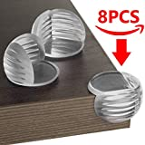 Clear Corner Guards | Protect Children From Table Corners While Playing! Deluxe Corner Protectors|Save Your Child From Evil Sharp Furniture Edges. Safety Bumpers for Baby Proofing|FREE PRICELESS BONUS