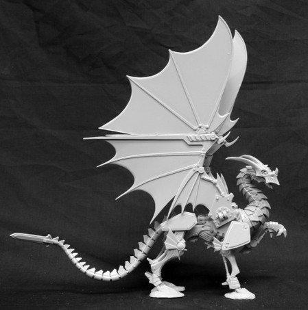 Reaper Wyrmgear 1 Clockwork Dragon Reaper Miniatures
