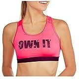 Danskin Now Women's Fitspiration Light Impact Sports Bra (Medium, Own It)