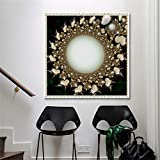 5D Full Drill Pictures Round Diamond Painting Cross Stitch Embroidery Home Romantic Flower