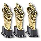 """PlayO 6"""" Gold Award Trophy Statue - 12 Pack - 12 Trophies for Ceremonies or Parties - Winner Prizes"""