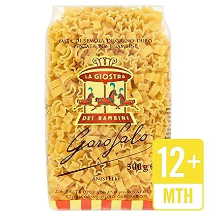 Garofalo orgánica para niños Anistelle Pasta 500g