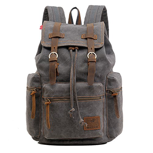 High Capacity Canvas Vintage Backpack product image