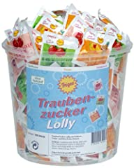 Traubenzucker-Lolly