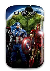 [hWeFnnr7408jTKIa]premium Phone Case For Galaxy S3/ The Avengers 109 Tpu Case Cover