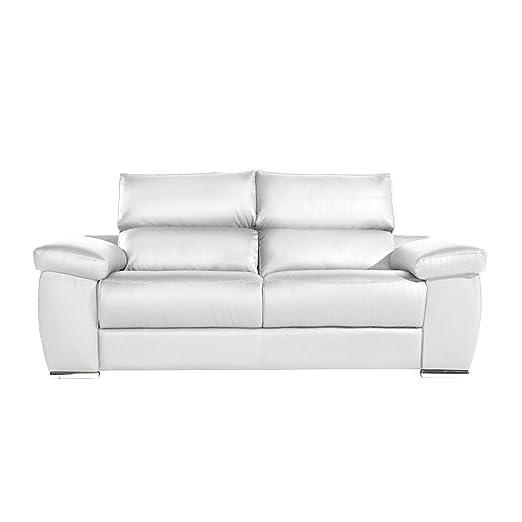 Zendo Sofas Mambo sofá de 3 plazas 2 Relax calme-TOI, Piel ...