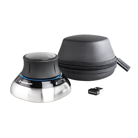 69db78bb0d4 Amazon.in: Buy 3Dconnexion SpaceMouse Wireless (with carry case and  universal receiver) Online at Low Prices in India   3D Connexion Reviews &  Ratings