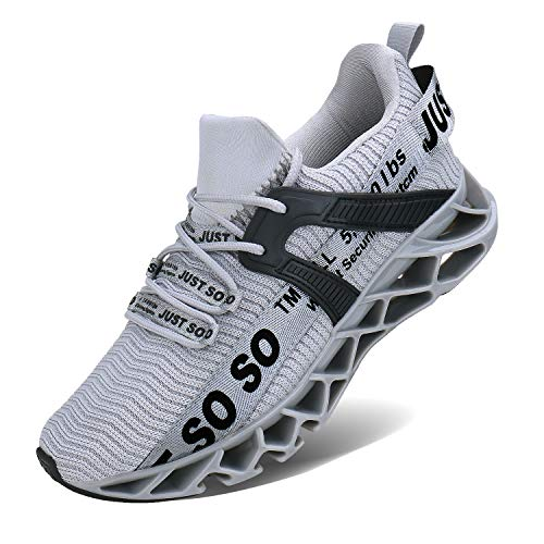 COKAFIL Mens Walking Shoes Running Athletic Fashion Tennis Blade Sneakers
