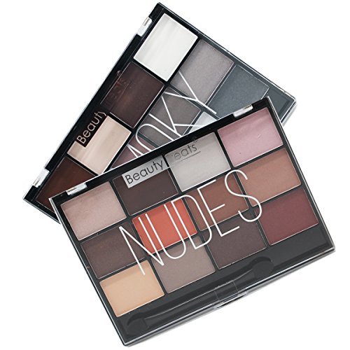 Beauty Treats Eye shadow NUDES & SMOKY 2pc Palette