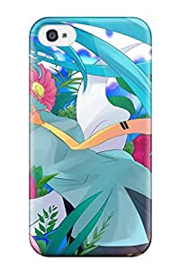 headsets bare shoulders Anime Pop Culture Hard Plastic iPhone 4/4s cases