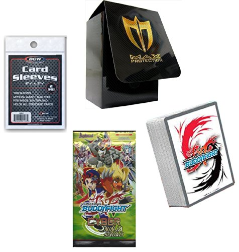 ght 50 Cards w/ Foil Card , 1 Sealed Pack + Deck Box & Sleeves ()