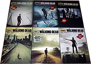 Walking Dead - Complete Collection, DVD (Series Seasons 1-6, 1,2,3,4,5,6 Bundle) USA Format Region 1
