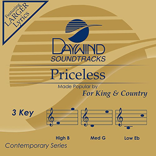 Priceless [Accompaniment/Performance Track] (Accompaniment Cd King)