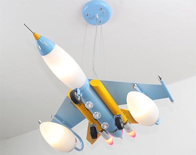 Fgsgz stanza dei bambini illuminazione lampadari di aeromobili led