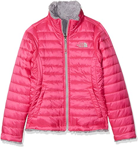 The North Face Girl's Reversible Mossbud Swirl Jacket - Petticoat Pink - M (Past Season) by THE NORTH FACE