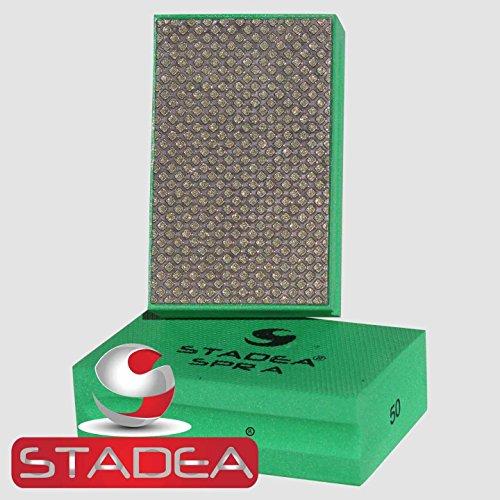 Stadea HPW109K Diamond Hand Polishing Pads - Marble Glass Concrete Stone Terazzo Polishing, 7 Pads Set by STADEA (Image #2)
