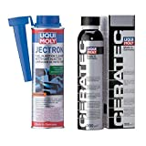 Fuel Injection Cleaner Liqui Moly Available Motor Oils Cera Tec Friction Modifier - 300 ml + Jectron Gasoline 300 ml KIT
