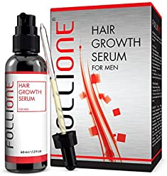 Hair Loss Treatment   Dermatologically Tested Hair Growth Serum for Men   Developed as an alternative to Minoxidil   One month supply