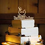 Deer Wedding Cake Topper - The Hunt is Over - WA1005