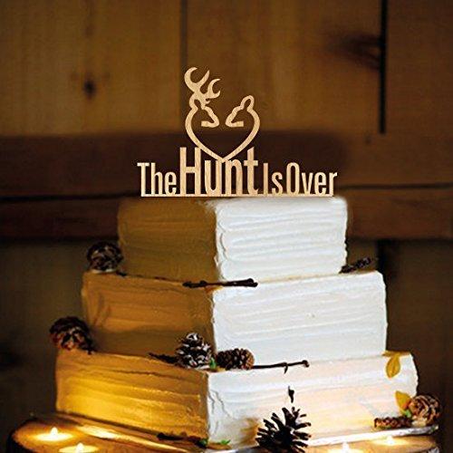 Deer Wedding Cake Topper - The Hunt is Over - WA1005
