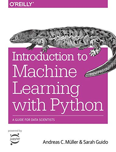 Pdf Technology Introduction to Machine Learning with Python: A Guide for Data Scientists