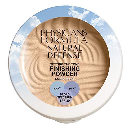 Physicians Formula Natural Defense Setting the Tone Finishing Powder SPF 20, Light, 0.35 Ounce, 1711354, 1711354…