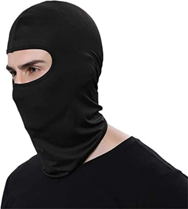 2PCS Ski Face Mask Sun Shield Motorcycle Cycling Balaclava Lycra Face Mask Neck
