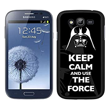 FUNDA CARCASA PARA SAMSUNG GALAXY GRAND NEO PLUS DARTH VADER 8 BORDE NEGRO - D4