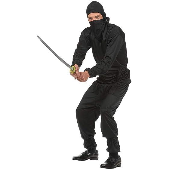 Amazon.com: Black Ninja Teen Costume: Clothing