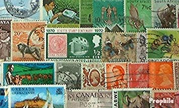 Prophila Collection Gran Bretaña 150 diferentes sellos británico Colonias y Imperio (sellos para los coleccionistas