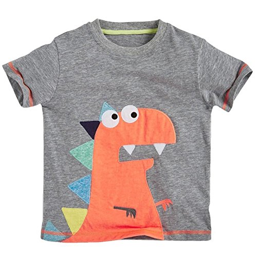Soda Park Boys Short Sleeve Funny Monster Graphic T Shirt