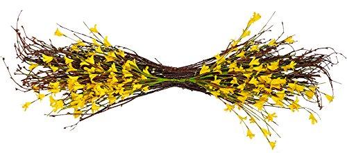 Worth Imports 34'' Forsythia Twig Swag by Worth Imports