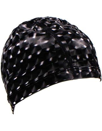 Hunpta  Chapeau de Natation, 1Pack Chapeau de Chapeau de Natation Durable  de Plage de b7ba55f7722