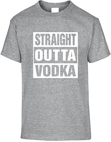 Diva Joy STRAIGHT OUTTA VODKA 5X Funny Unisex T-Shirt (Vodka Straight)