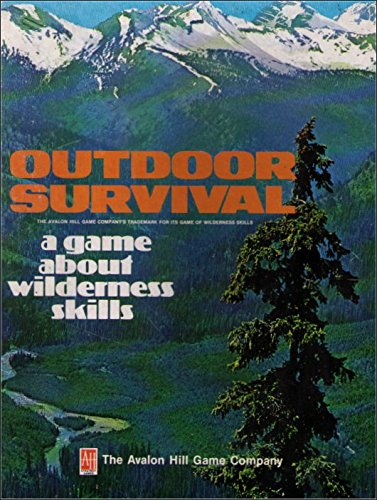 wilderness a game of survival board game - 1