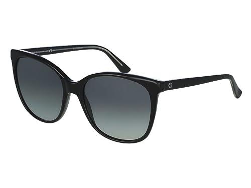 Gucci Occhiali da sole GG-3751/S-Y6C (56 mm) Nero