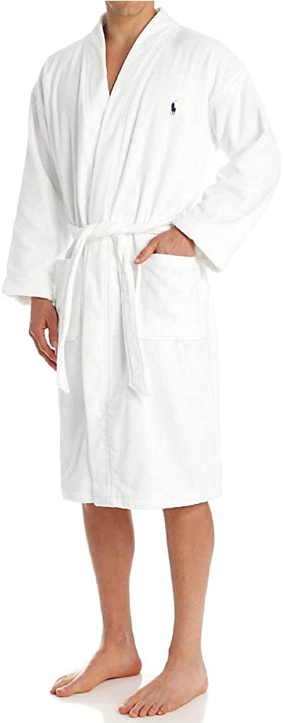 Polo Ralph Lauren Mens Terry Shawl Robe at  Men's Clothing store