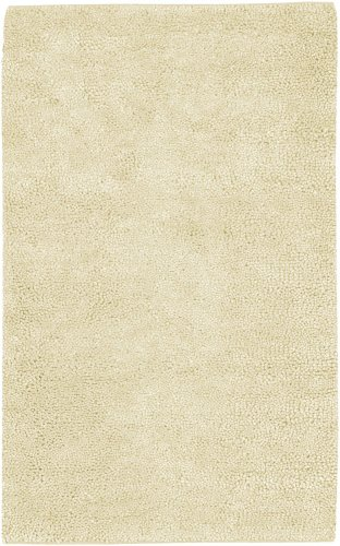 Surya Aros AROS-2 Shag Hand Woven 100% New Zealand Felted Wool Winter White 2'6'' x 8' Runner by Surya