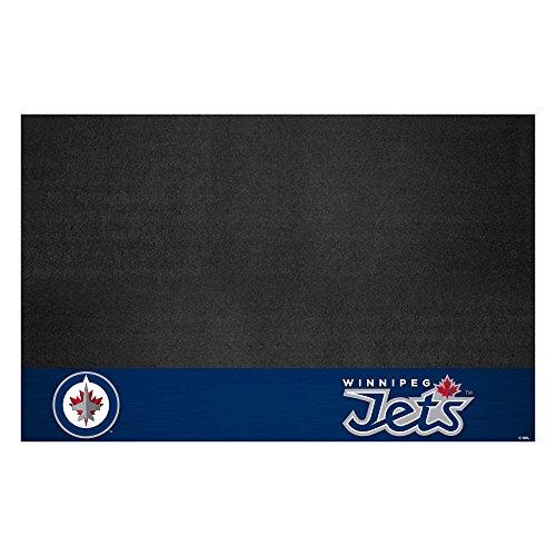 FANMATS 14254 NHL Winnipeg Jets Grill Mat