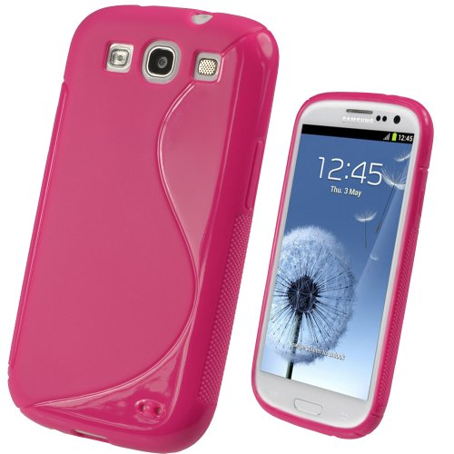 hot pink galaxy s3 case - 3